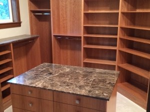 Real Cherry Plywood Walk In Closets