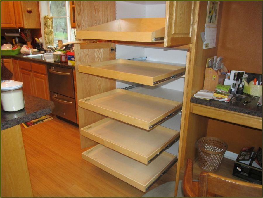 Roll Out Shelves Home Solutions Northwest Closets Wallbeds