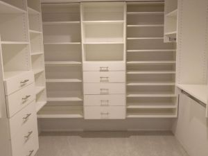 White Walk In Closet